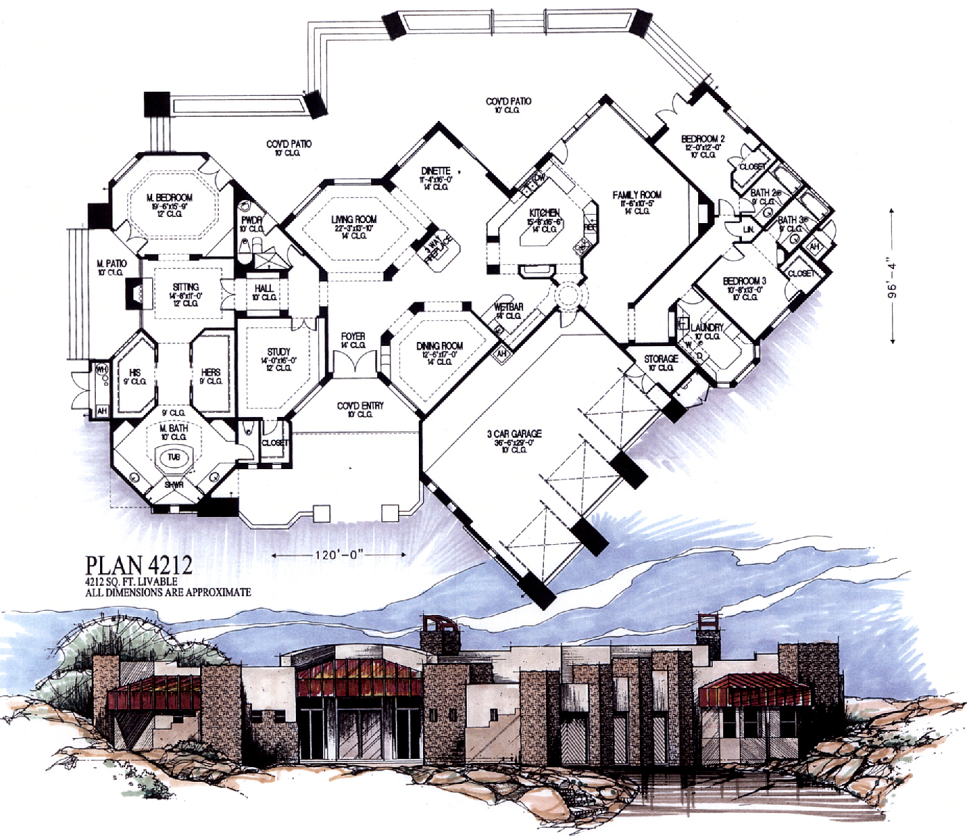 4000 Square Feet And Larger
