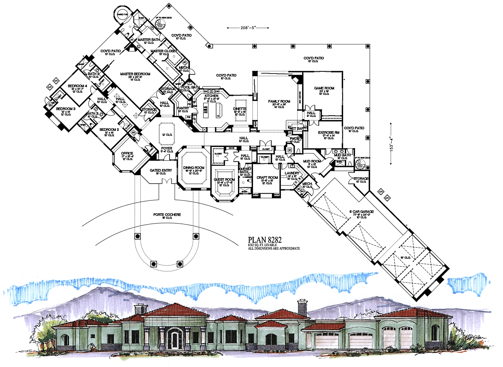 4000 square feet and larger 4000 sq ft office plan