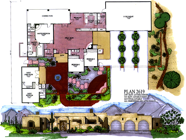 Custom Home Plans, Arizona, Drafting, AZ, House Plans, Custom Home