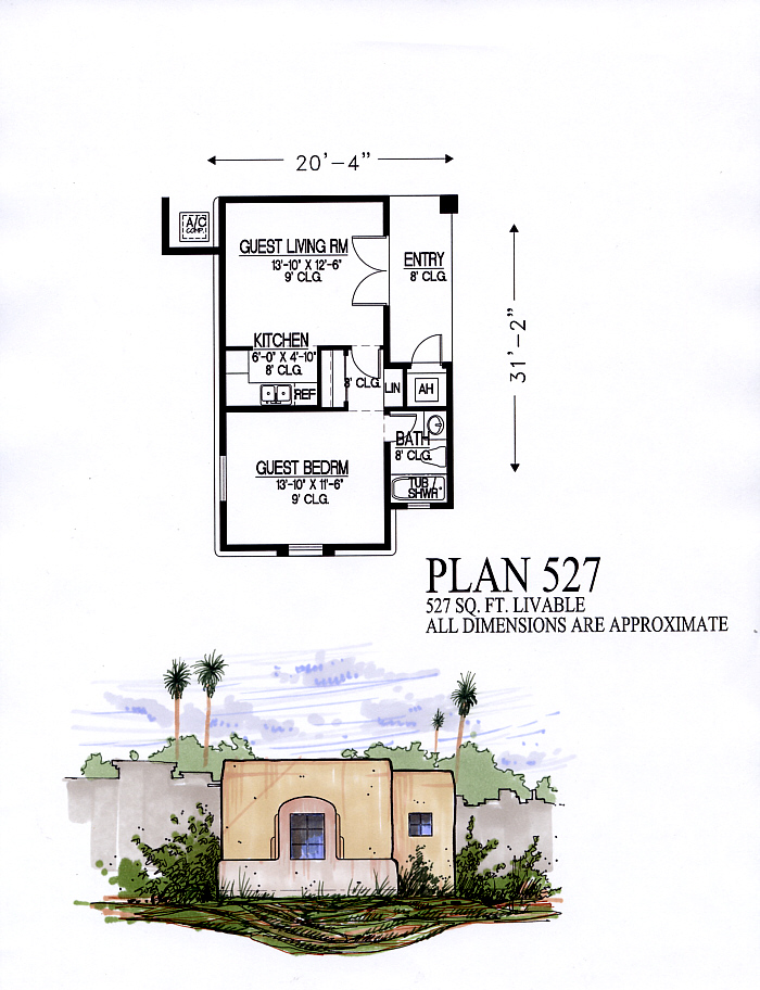 Guest homes for 527 plan